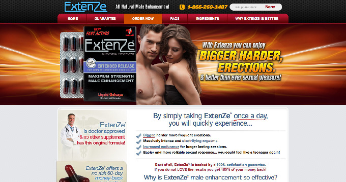 Extenze Free Sample